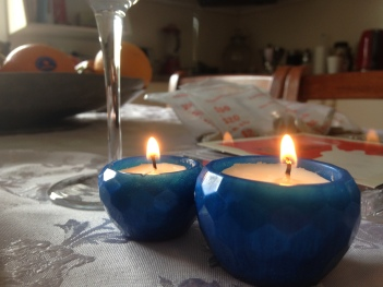 Mini Bowls With candles