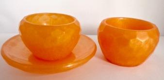 Mini Bowls - Set of Orange
