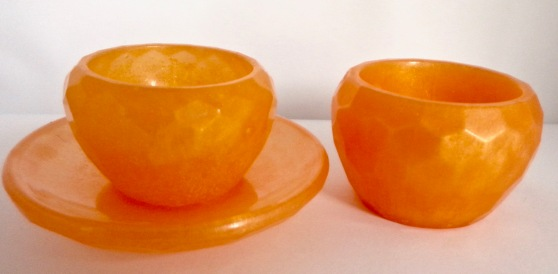 Mini Bowls - Set of Orange