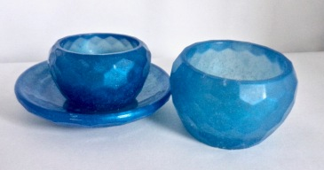 Mini Bowls - Set of Blue