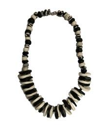 B&W Clay beads